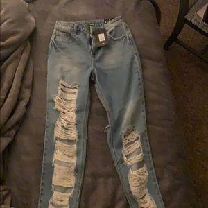 Fashion nova jeans new with tags